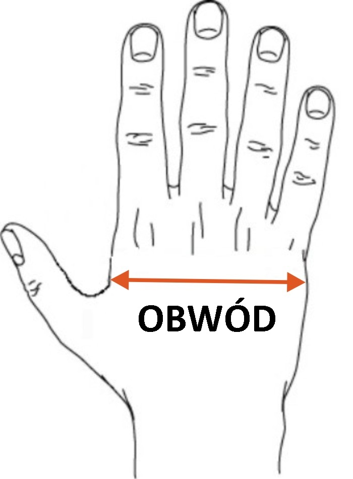 rozmiar rękawic jak dobrać