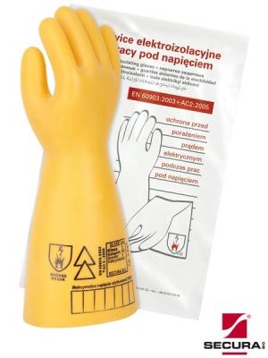 rękawice elektroizalacyjne