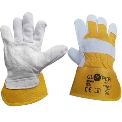 Rękawice ochronne wzmacniane GLOPER BREVER SI 2111