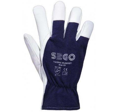 Rękawice skórzane Tropic Budget S2GO