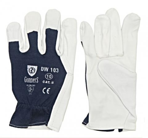 Rękawice skórzane Gunners DW-103