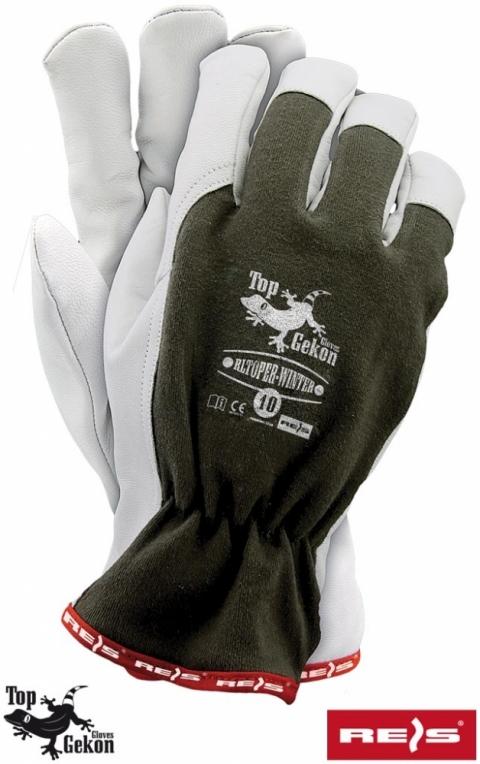 Rękawice skórzane RLTOPER-WINTER