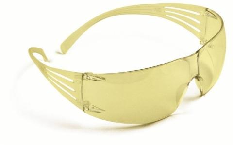 Okulary przeciwodpryskowe rozjaśniające 3M Securefit 203