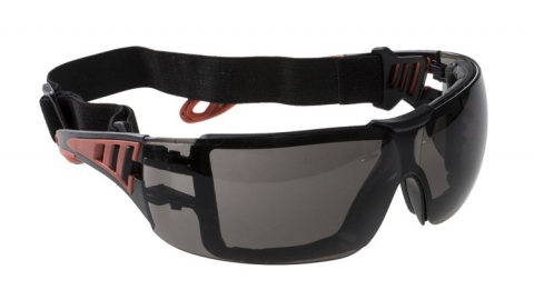 Okulary przeciwodpryskowe PS11 Tech Look Plus Smoke