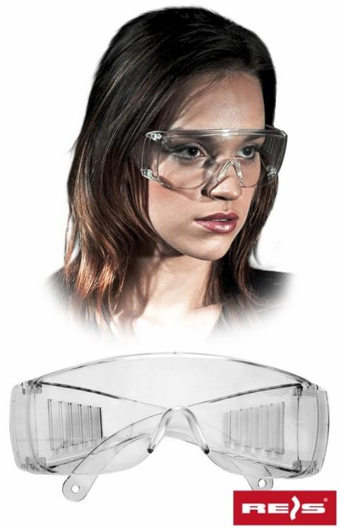 Okulary przeciwodpryskowe GOG-ICE