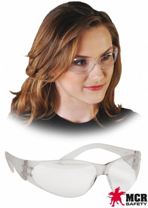 Okulary przeciwodpryskowe MCR-CHECKLITE Clear