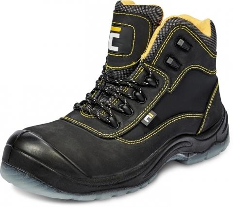 Buty obuwie robocze Trzewik Ocieplany BK TPU MF S3 CI SRC