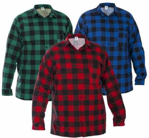 Koszula flanelowa 100% bawełna