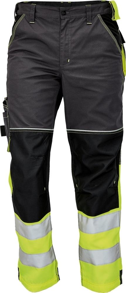 Spodnie ostrzegawcze Knoxfield Reflex - zółty