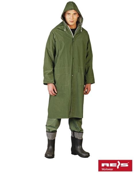 Płaszcz przeciwdeszczowy z kapturem