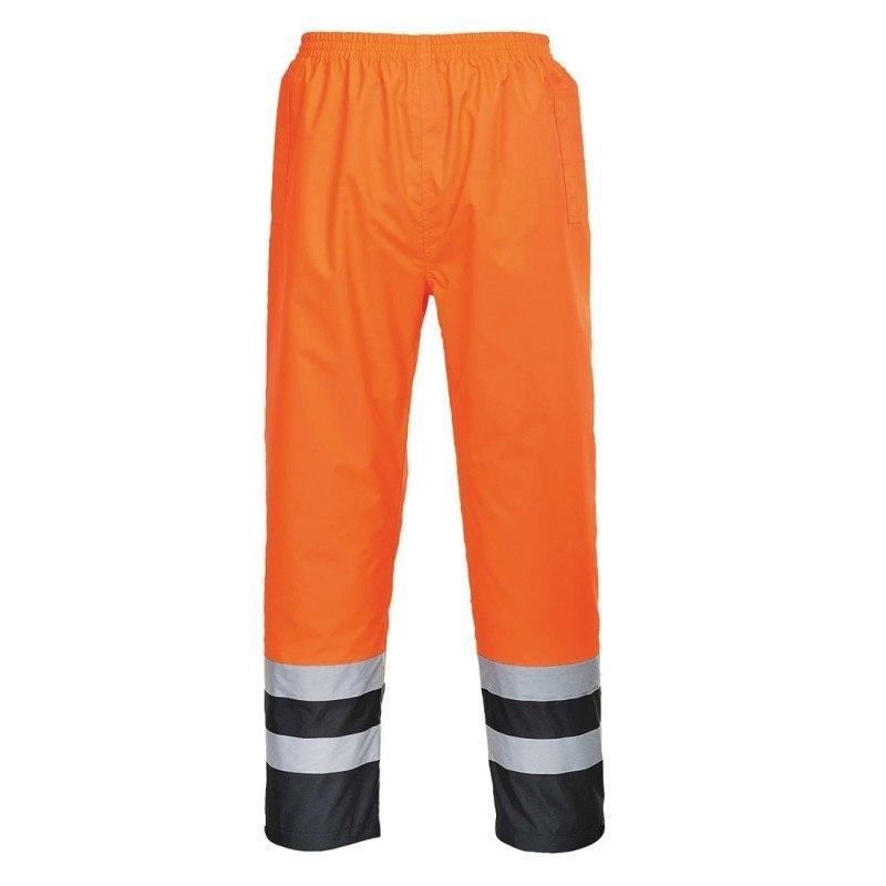 Spodnie ostrzegawcze dwukolorowe TRAFFIC- S486