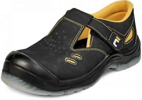 Buty obuwie robocze Sandały BK TPU MF S1P SRC