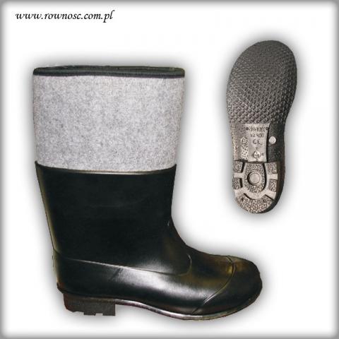 Buty obuwie robocze z PCV Równość WZ 400