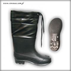 Buty obuwie robocze z PCV Równość ze ściągaczem WZ 400N