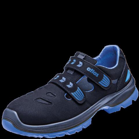 Buty obuwie robocze Sandały Atlas SL 3565 Blue XP ESD